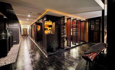 经典茶楼中式装修,环境儒雅韵味十足