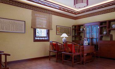 北京房山办公室中式设计,让办公室活力注入新的血液