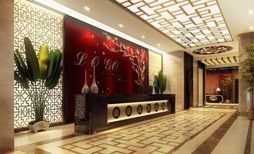 餐厅中式装修案例,奢华大气彰显尊贵