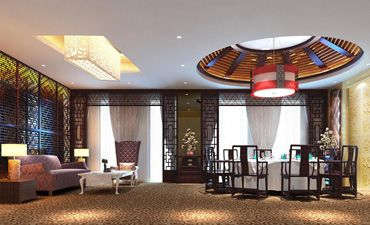 新古典中式酒店设计,现代时尚理念下的古典风情