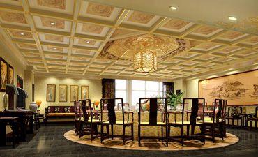 北京古典酒店中式装修,时尚风格演绎奢华格调
