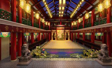 秦皇岛古典中式装修风格,彰显大家风范和气派