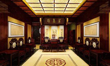 家具展厅中式设计,古朴悠然且庄重大气