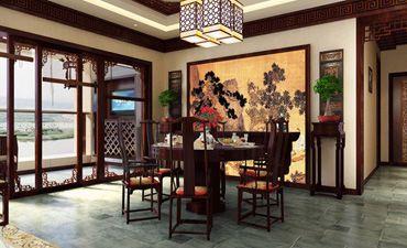 中式风格的别墅装修,古韵优雅豪华气派