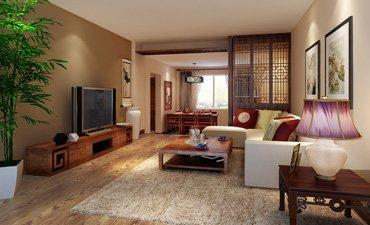 北京张女士住宅中式装修,简洁清新突出雕饰魅力