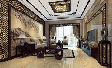 江苏连云港新中式风格住宅,增添了轻松和惬意之感