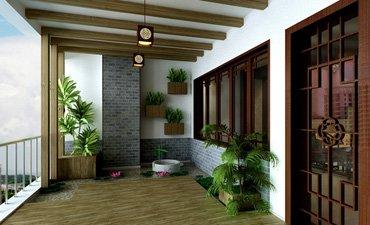 古典风格的复式楼装修设计,让每个空间都有家的温馨
