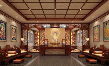 山西四合院中式装修,体现古雅自然的文化内涵