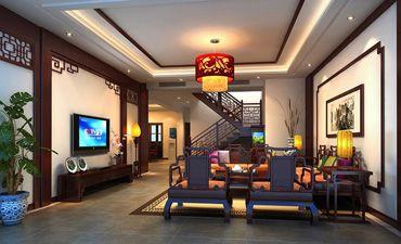 古典样板间中式设计,传承古韵且柔和时尚因素