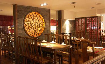 晋盛德餐厅中式设计,气势恢宏古雅高贵