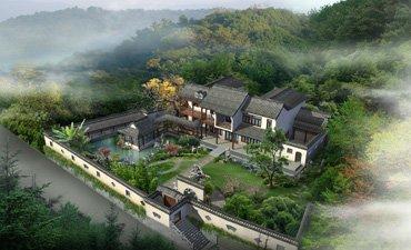 自建房屋设计,领略古典中式风格建筑的大气、典雅