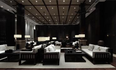 现代中式风格售楼处中式设计,简约同时融入舒适元素