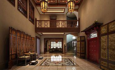 碧水庄园别墅中式设计,舒适庄雅大气豪华