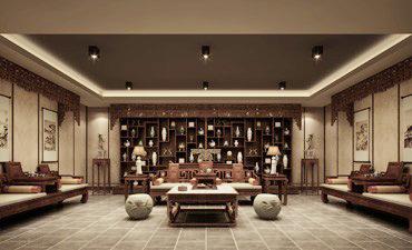 重庆茶楼中式装修案例,展现中式文化的时尚和高雅
