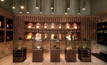 展厅中式装修效果图,优雅高端更具品位