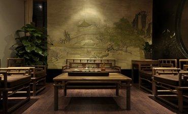 中式风格的展厅设计,高档大气雅意非凡