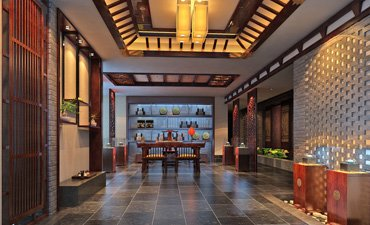 中式风格茶楼设计,大气华贵充满文化气息