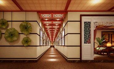 邯郸售楼处中式设计,清新自然气质高雅