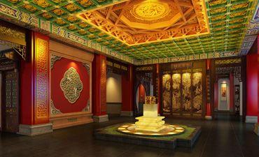 河南新密会所中式设计,高端典雅又具备优雅气