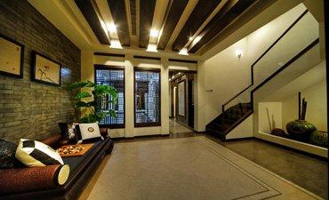 苏州港岛花园联排别墅设计,高端大气古韵犹在