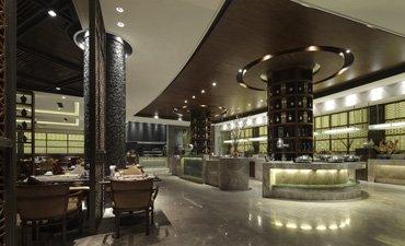 现代中式风格酒店宾馆设计,庄重优雅现代感十足