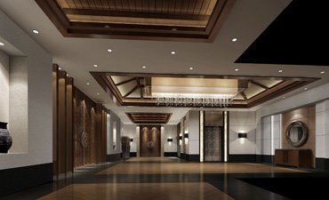 酒店中式设计案例,高端优雅气势恢弘