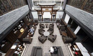 主题酒店中式装修,表现高端、庄雅的审美价值