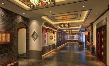 曲阜酒店中式设计案例,古雅装饰凸显儒韵内涵