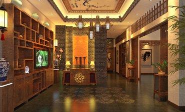 漯河茶楼中式装修,清幽华丽不失个性
