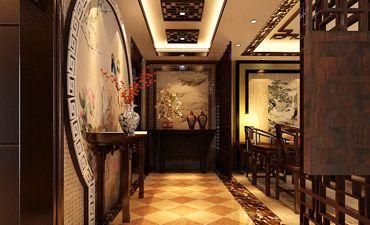 古典中式风格的住宅设计,雅致而透出时尚之感