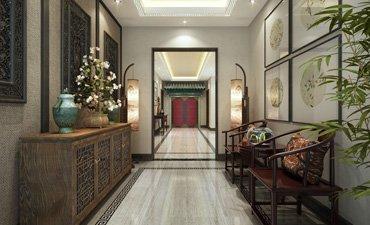 东普现代中式样板间设计,典雅高贵富有文化底蕴