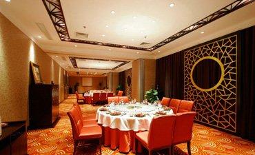中式餐厅设计效果图,让古雅高贵无处不在