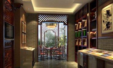 德州茶楼中式设计案例,营造一个典雅宁静的空间
