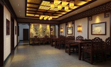 长沙古典会所中式装修,从内涵上体验传统文化精髓