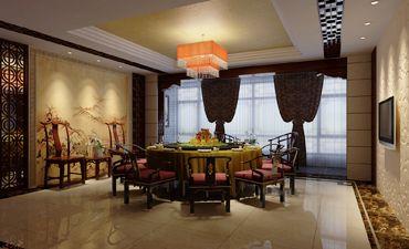 郑州典型会所中式设计,艺术美感和自然相融