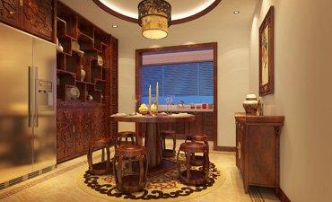 邯郸家装新中式案例,展现古典高雅的魅力