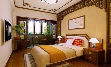 中式装修卧室选择什么样的色调有助于睡眠?