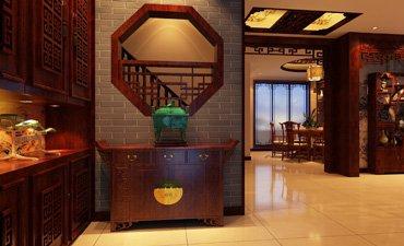 重庆家装中式设计,清新宁静温馨简约