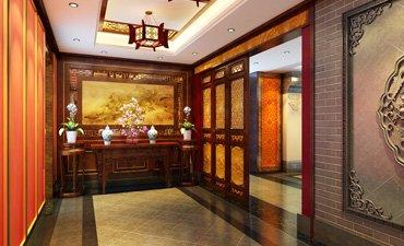 西安古典中式装修效果图,高雅脱俗而不奢侈