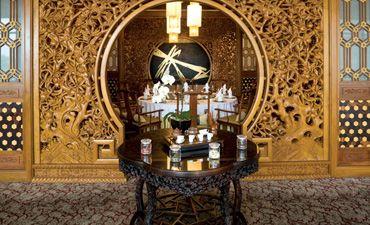 上海中式酒店装修效果图,感受古雅高端的休闲气息