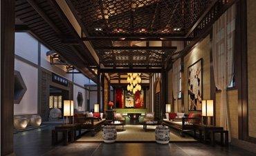 古典茶楼会所装修案例欣赏,突显高端品位和儒雅氛围