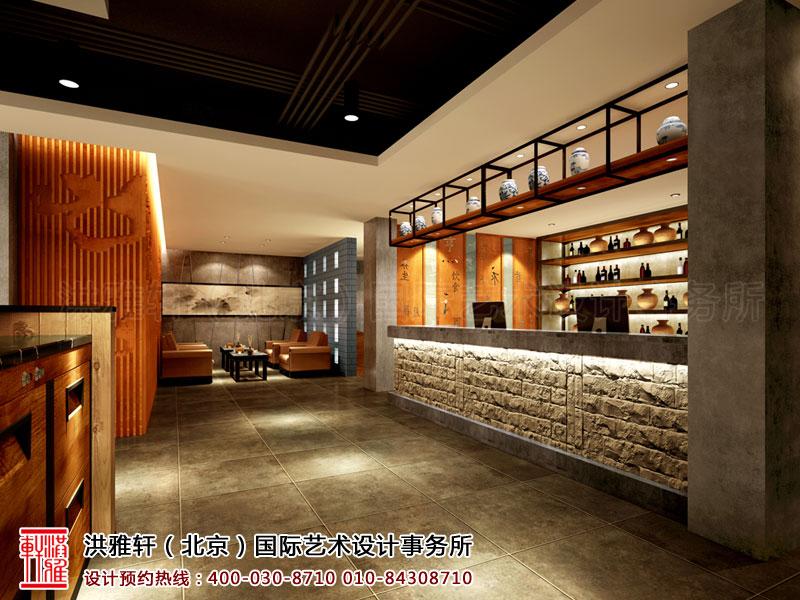 新古典中式装修大厅