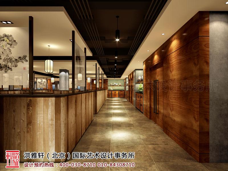 新古典中式餐厅装修