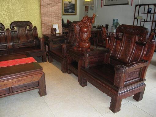红酸枝木家具2