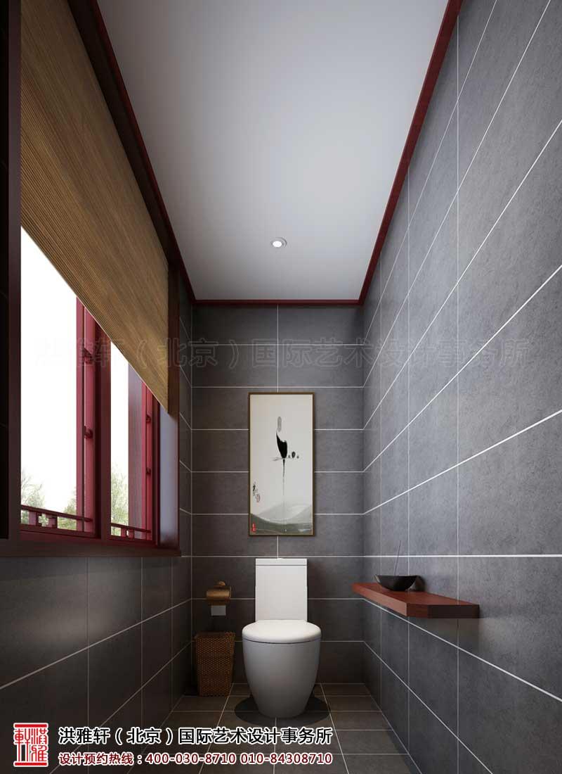泊莲禅寺古典中式装修 卫生间