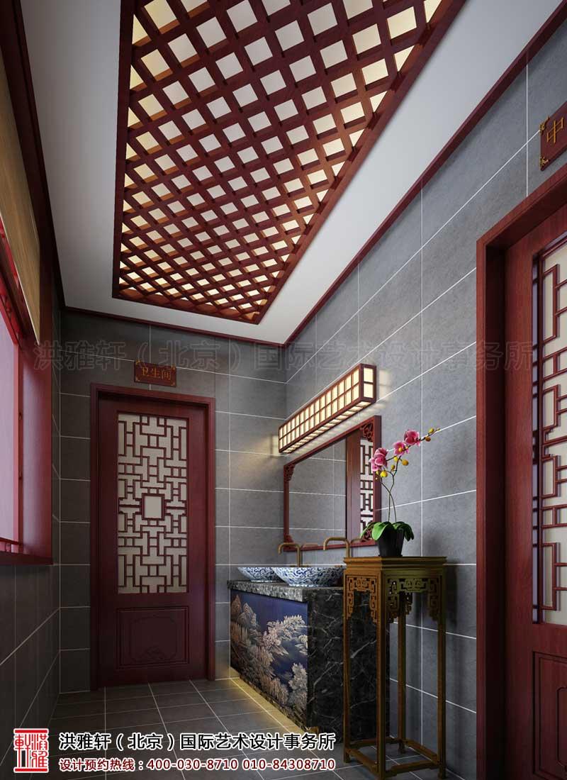 泊莲禅寺古典中式装修 洗手间