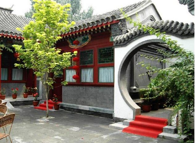 四合院属于老北京城市建筑的标志