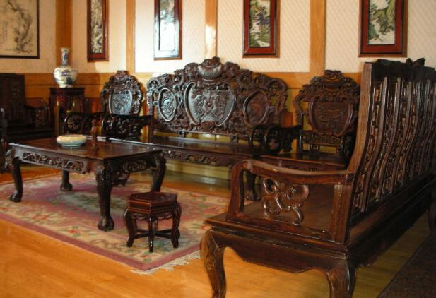 红酸枝中式家具