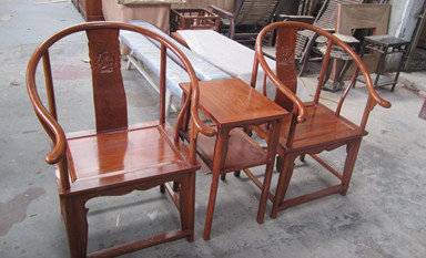 为中式装修空间选择一款真正的鸡翅木家具