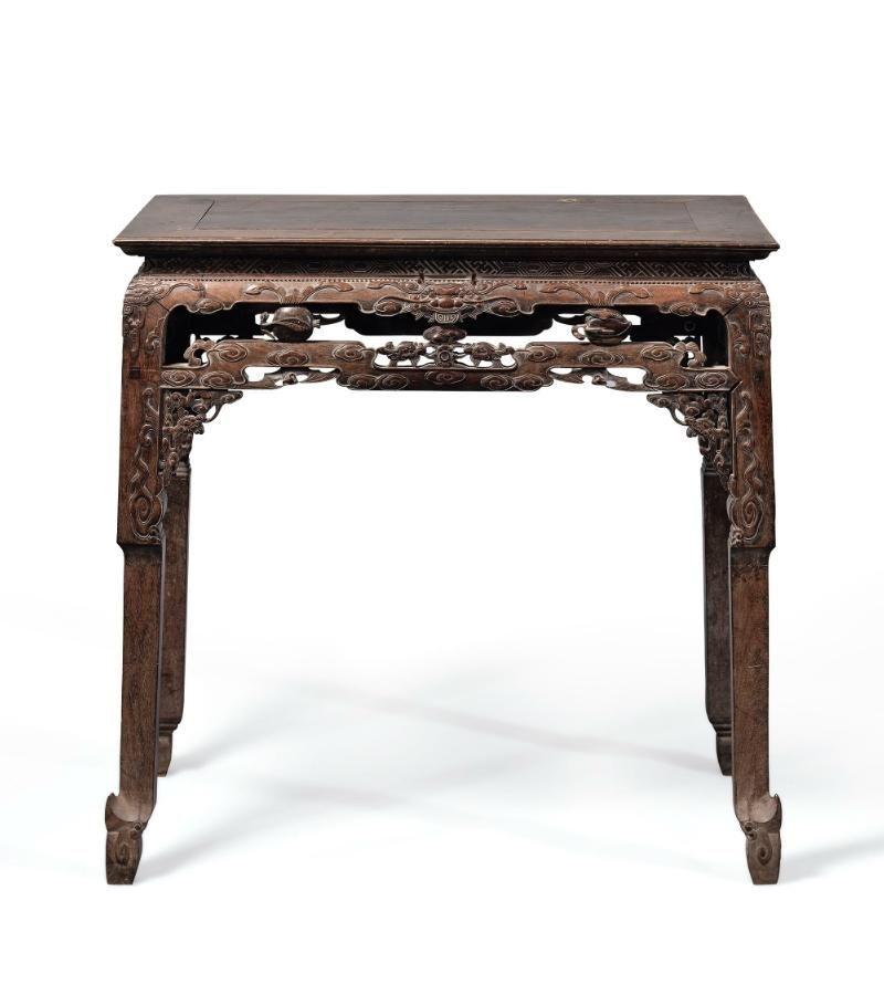 清代紫檀供桌
